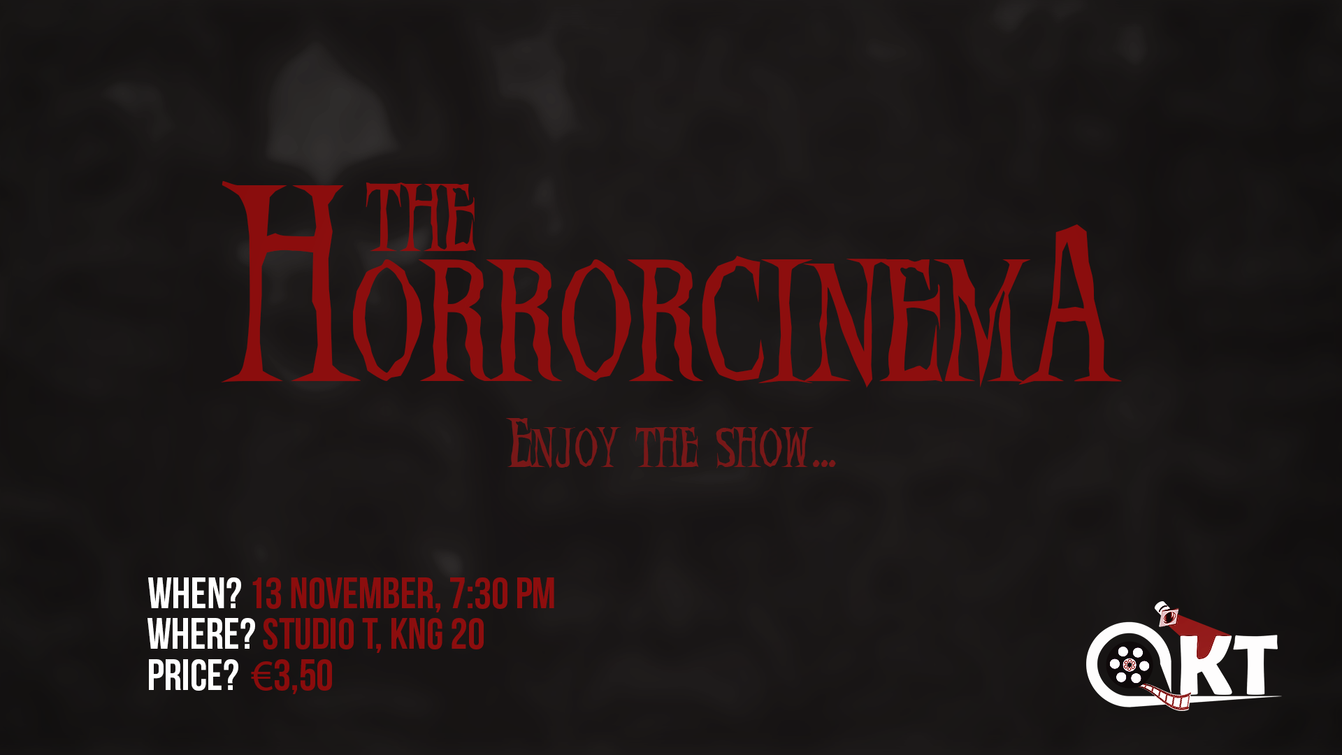 AKT on Screen: Horrorcinema